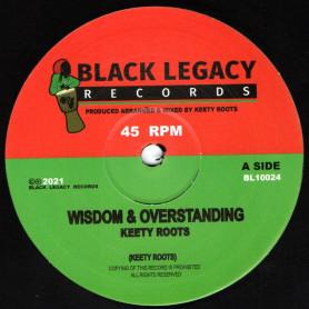 """(10"""") KEETY ROOTS - WISDOM & OVERSTANDING / DUB & OVERSTANDING"""