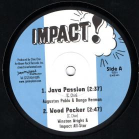 "(10"") AUGUSTUS PABLO - JAVA PASSION / WINSTON WRIGHT - WOOD PECKER"