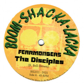 "(10"") THE DISCIPLES - FEARMONGERS / EXALTATION"