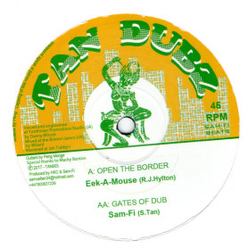 """(10"""") EEK A MOUSE - OPEN THE BORDER / DIGGORY KENRICK - SKYLINE SPECIAL"""