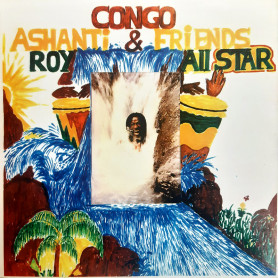 (LP) VARIOUS - CONGO ASHANTI ROY & FRIENDS ALL STAR