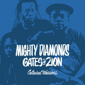 """(10"""") MIGHTY DIAMONDS & CULTURAL WARRIORS - GATES OF ZION"""