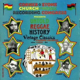 (LP) VARIOUS - UNTOLD REGGAE HISTORY : VINTAGE CLASSICS VOLUME ONE (Prince Allah, Sylvan White, Frankie Paul, Rod Taylor...)