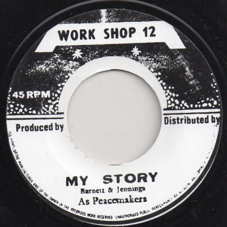 """(7"""") AS PEACEMAKERS - MY STORY / VERSION"""