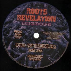 "(10"") NOMADIX - GOD OF THUNDER / EASTERN ROOTS MEETS KOHELET SOUND - PROGRESS DUB"