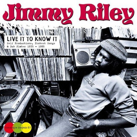 (2xLP) JIMMY RILEY - LIVE IT TO KNOW IT