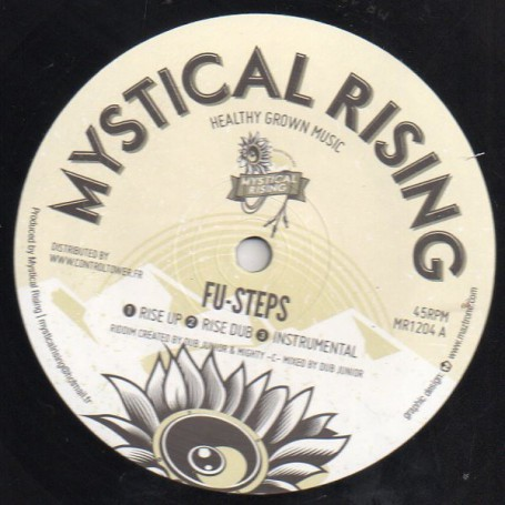 """(12"""") FU-STEPS - RISE UP / BENJAMMIN - IN THIS TIME"""