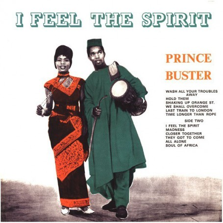 (LP) PRINCE BUSTER - I FEEL THE SPIRIT