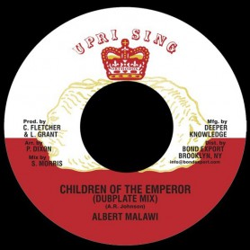 "(7"") ALBERT MALAWI - CHILDREN OF THE EMPEROR (Dubplate Mix) / ADVOCATES AGGREGATION - ETHIOPIA FIRST"