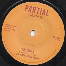 "(7"") ISTAN BLACK AND THE SWEETS - RASTAMAN / LOST ARK DUB"