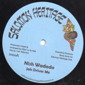"(12"") NISH WADADA - JAH DRIVES ME / PATIENCE"