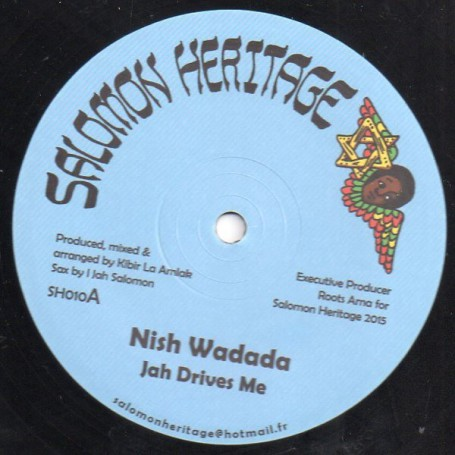 "(12"") NISH WADADA - JAH DRIVES ME / PATIENCE"
