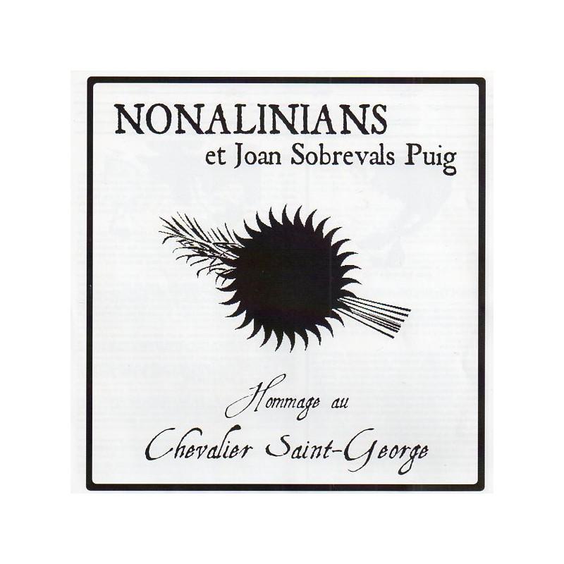 """(7"""") NONALINIANS et JOAN SOBREVALS PUIG - HOMMAGE AU CHEVALIER SAINT GEORGE"""