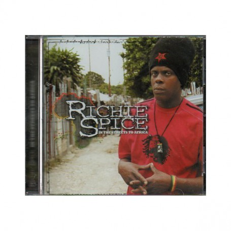 (CD) RICHIE SPICE - IN THE STREETS TO AFRICA