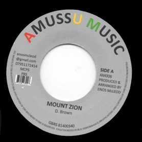 "(7"") DENNIS BROWN - MOUNT ZION / VERSION"