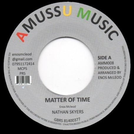 "(7"") NATHAN SKYERS - MATTER OF TIME / VERSION"