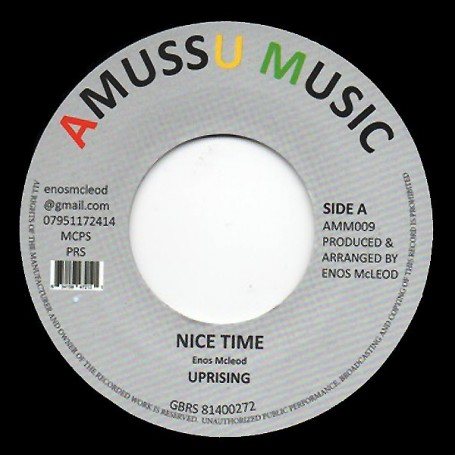 "(7"") UPRISING - NICE TIME / VERSION"