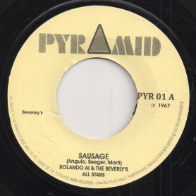 """(7"""") ROLAND ALPHONSO &THE BEVERLEY'S ALL STAR - SAUSAGE / SOUL FINGER"""