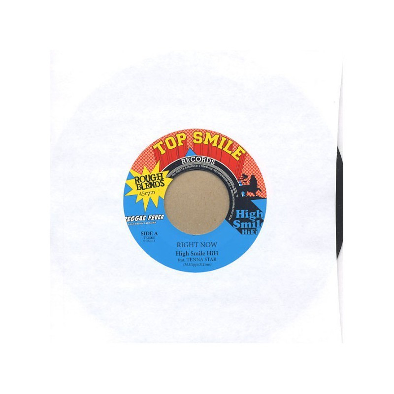 "(7"") HIGH SMILE HIFI Feat TENNA STAR - RIGHT NOW / FAMILY"