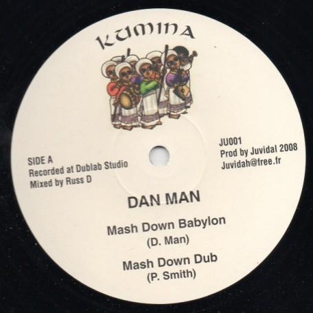 "(12"") DAN MAN - MASH DOWN BABYLON"