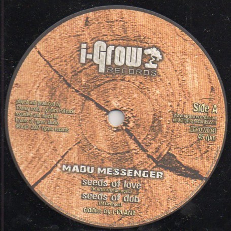 "(10"") MADU MESSENGER - SEEDS OF LOVE / I-PLANT - RIVER BLOW"