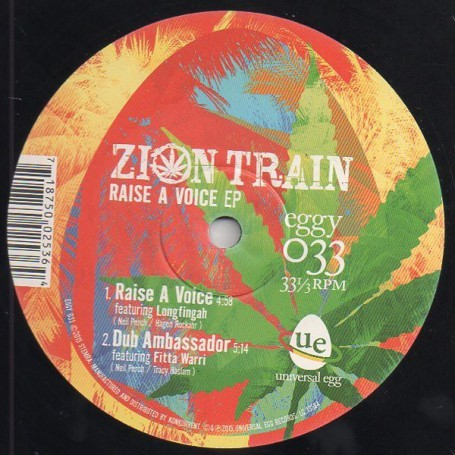 "(10"") ZION TRAIN - RAISE A VOICE EP"