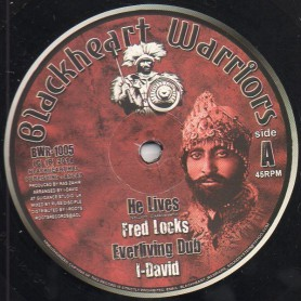 "(10"") FRED LOCKS - HE LIVES / SISTA BELOVED - BE STILL"