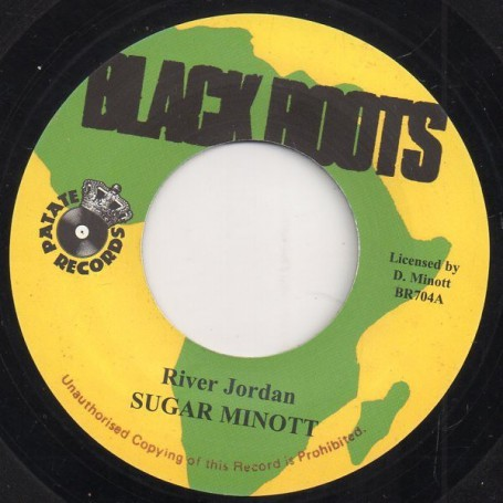 "(7"") SUGAR MINOTT - RIVER JORDAN / CAPTAIN SIMBAD & LITTLE JOHN - 51 STORM"