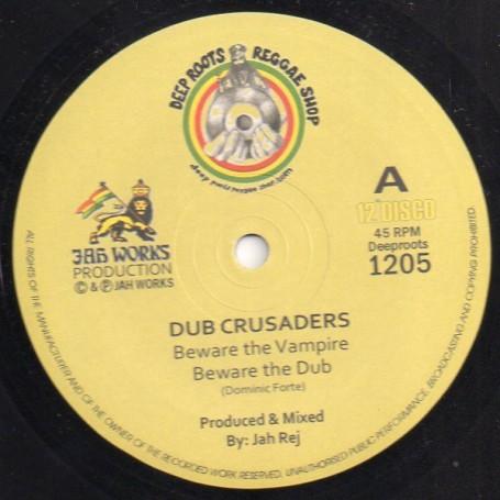"""(12"""") DUB CRUSADERS - BEWARE THE VAMPIRE / DUB THE VAMPIRE"""