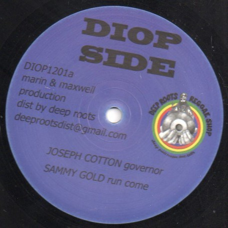 "(12"") JOSEPH COTTON - GOVERNOR / SAMMY GOLD - CREATOR"