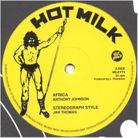 """(12"""") ANTHONY JOHNSON - AFRICA / JAH THOMAS - STEREOGRAPH STYLE / BARRINGTON LEVY - WICKED INTENTION / ROD TAYLOR"""