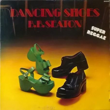 (LP) BB SEATON - DANCING SHOES : SUPER REGGAE