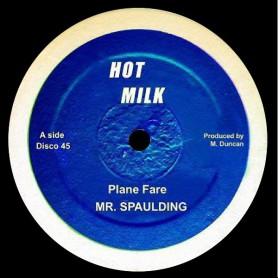 "(12"") MR SPAULDING - PLANE FARE / FANTASTIC"