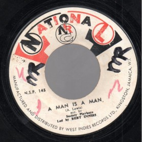 "(7"") SOCIETY PLAYBOYS - A MAN IS A MAN / FIRE IN YOU WIRE"