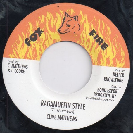 "(7"") CLIVE MATTHEWS - RAGAMUFFIN STYLE / VERSION"