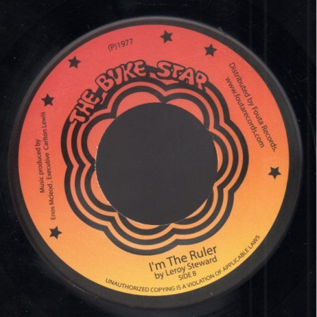 "(7"") LEROY STEWART (Leroy Steward) - I'M THE RULER / BLACK PRINCESS"