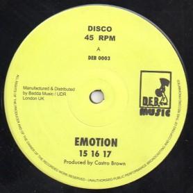 "(12"") 15 16 17 - EMOTION / DENNIS BOVELL - CASTRO BROWN"