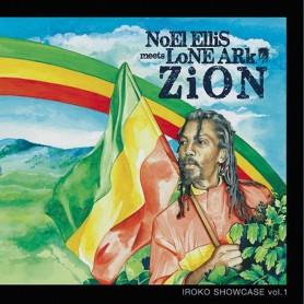 (LP) NOEL ELLIS MEETS LONE ARK - ZION