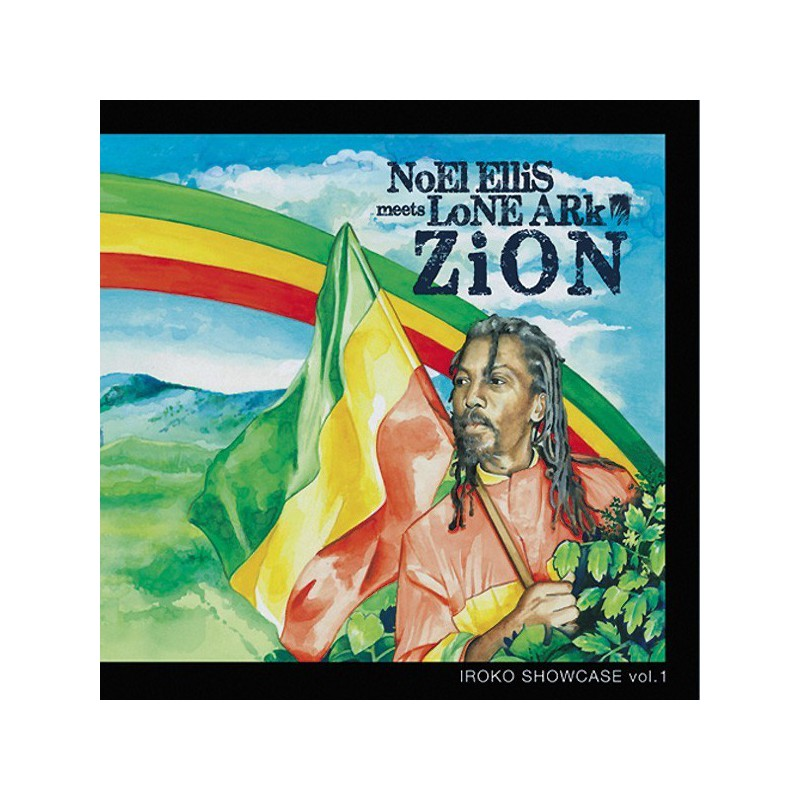(LP) NOEL ELLIS MEETS LONE ARK - ZION