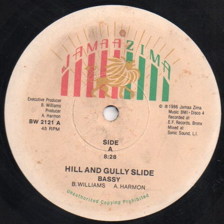 "(12"") BASSY - HILL AND GULLY SLIDE / HOT"