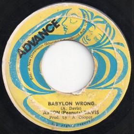 "(7"") ASTON DAVIS - BABYLON WRONG / JAILHOUSE YODEL"