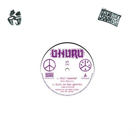 "(10"") KEN PARKER - GIRL ASHEBA / JAH STITCH / KNOWLEDGE - RASTA DON'T TAKE BRIDE"