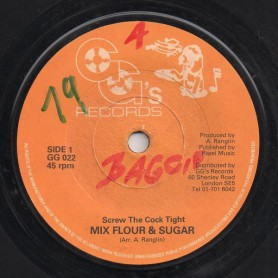 "(7"") MIX FLOUR & SUGAR - SCREW THE COCK TIGHT / VERSION"