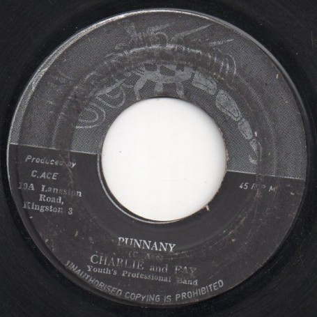 """(7"""") CHARLIE AND FAY - PUNNANY / VERSION"""