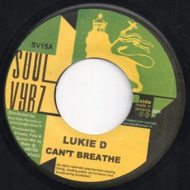 "(7"") LUKIE D - CAN'T BREATHE / MARYJOY"