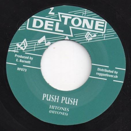 "(7"") HITONES - PUSH PUSH / DEBO"