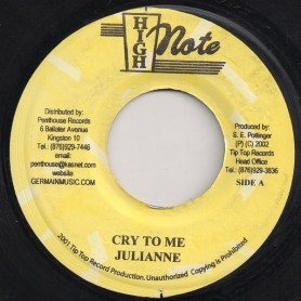 "(7"") JULIANNE - CRY TO ME / JOE WHITE - IF IT DON'T WORK OUT"