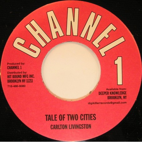 "(7"") CARLTON LIVINGSTON - TALE OF TWO CITIES / DUB"
