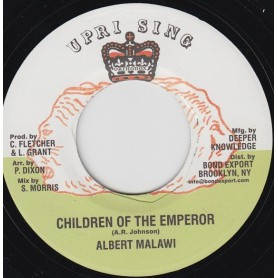 "(7"") ALBERT MALAWI - CHILDREN OF THE EMPEROR"