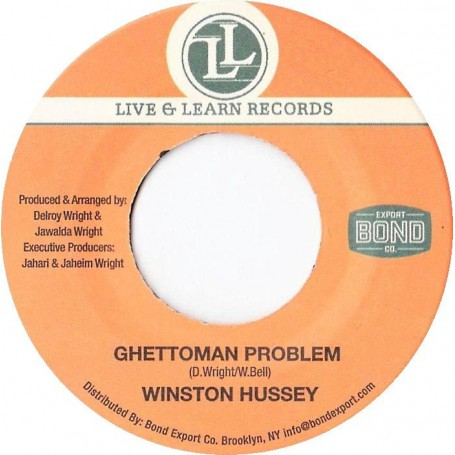 "(7"") WINSTON HUSSEY - GHETTOMAN PROBLEM / VERSION"